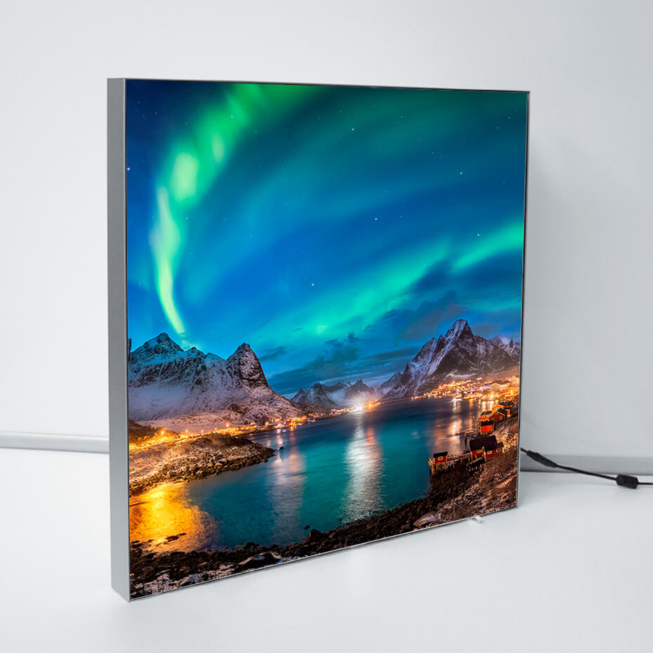 Brectus Aluminum LED Frame