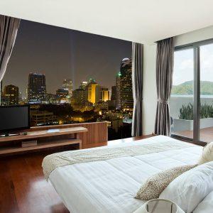 Photo wallpaper for bedroom