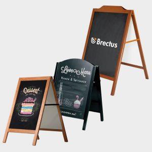 Brectus Pavement Board Chalkboard