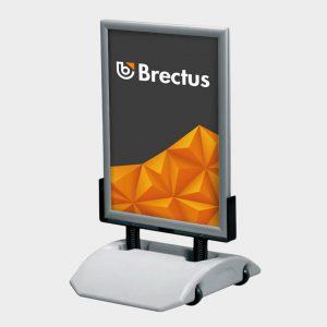 Brectus Pavement Board Wind-Sign Alu Smart