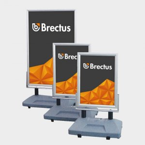Brectus Pavement Board Wind-Sign