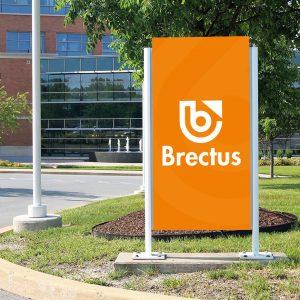 Brectus Outdoor Advertising Sign