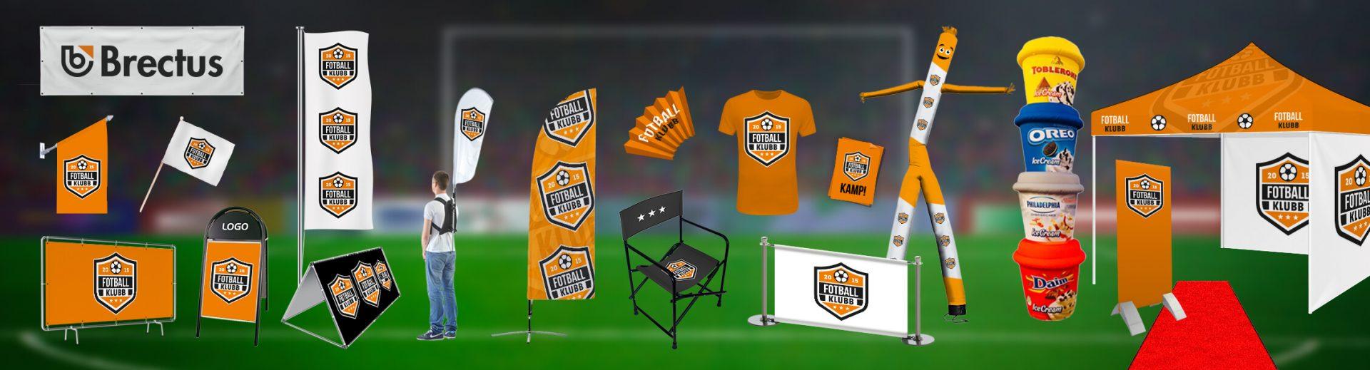 Football Stadium Brectus Arena Advertising