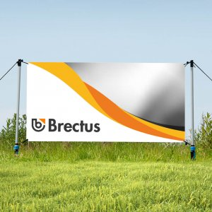 Brectus Banner Stand