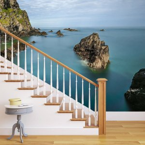 Brectus Photo wallpaper for stairway