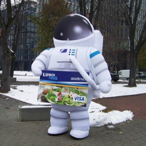 Brectus Inflatable Advertising Costumes