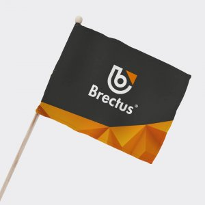 Brectus Supporterflagg Balkongflagg